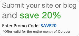 Save 20% at Best of the Web